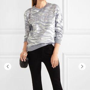 Kenzo Paris Silver Sweater Size Xsmall